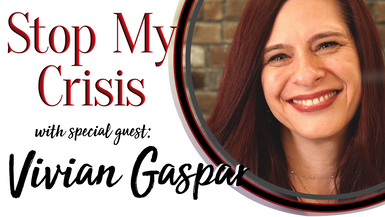 STOP MY CRISIS with Vivian Gaspar channel