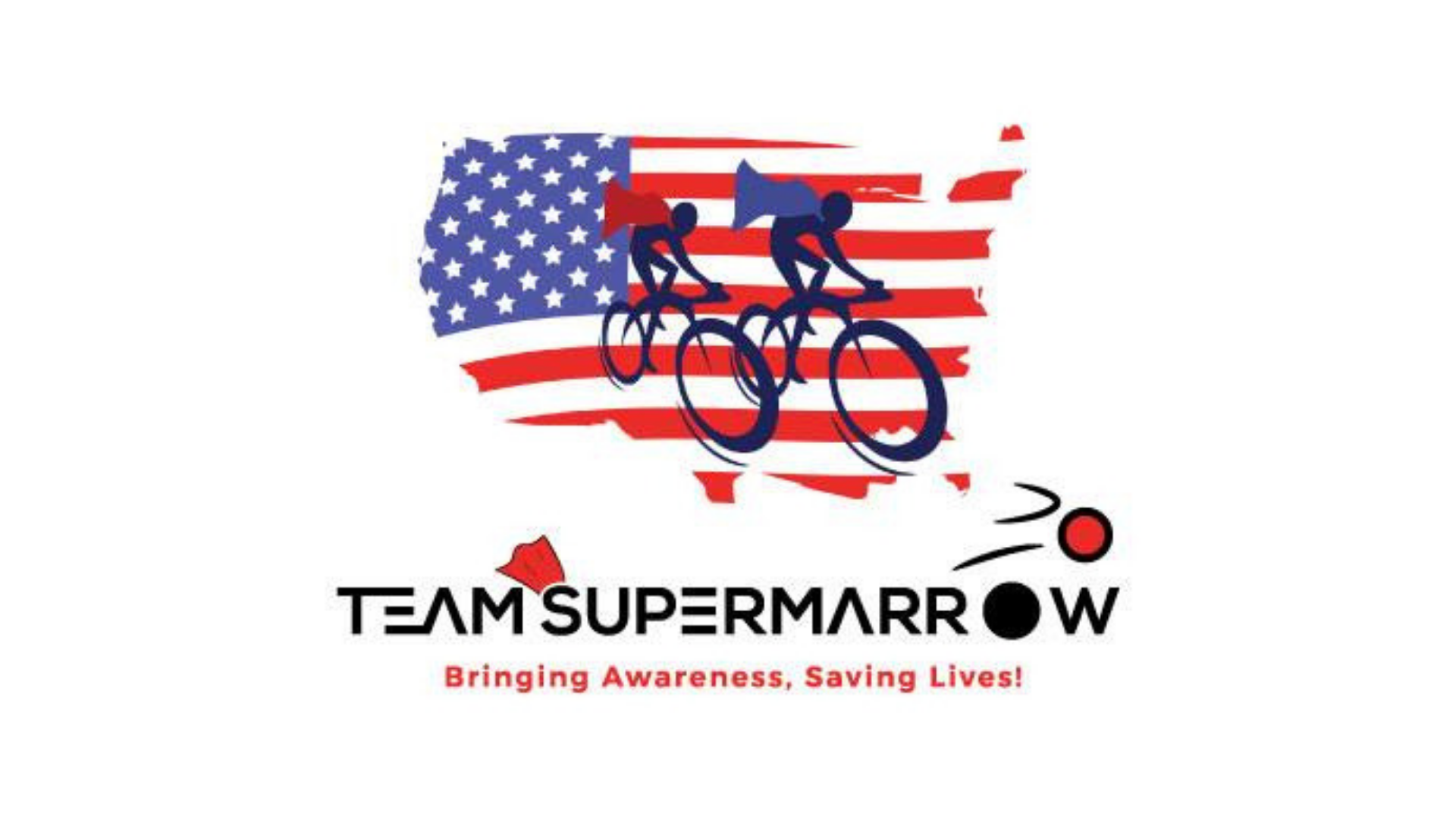 Team SuperMarrow's Race Across America Official Cheerleaders Helping the Team Charge to the Finish Line of the World's Toughest Bicycle Race