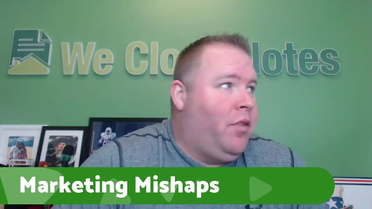 Marketing Mishaps