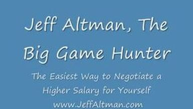 THE EASIEST WAY TO NEGOTIATE A HIGHER SALARY FOR YOURSELF | JOBSEARCHTV.COM | EP 8