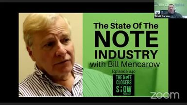 The Statue of The Note Industry with Bill Mencarow