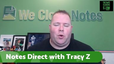 On this episode of the Note Closers Show, we've got Tracy Z. Rewey on to discuss her 20 years as a