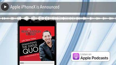 Apple iPhoneX is Announced