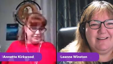 Join Leanne Winston Psychic Medium and Annette Kirkwood for an extra show this week with a very spe
