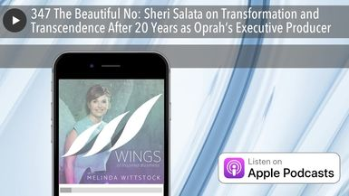 347 The Beautiful No: Sheri Salata on Transformation and Transcendence After 20 Years as Oprah's Ex