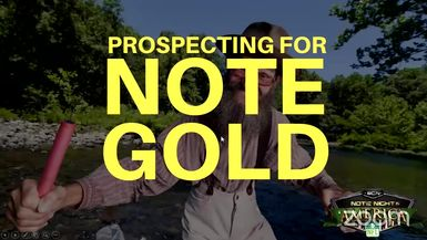 Prospecting For Note Gold with Brecht Palombo