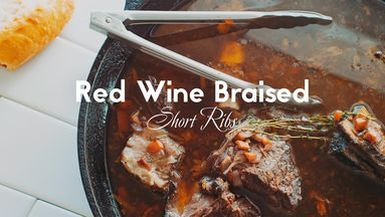 Wylder Space TV, Red Wine Braised Short Ribs