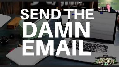 Note Night in America: Send the Damn Email