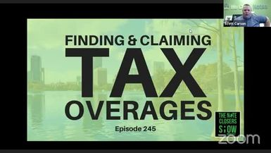 Finding & Claiming Tax Overages