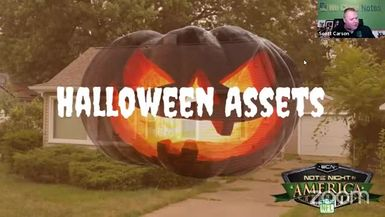 Note Night in America: Halloween Assets