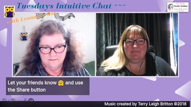 Tuesdays Intuitive Chat with Leanne & Ros - 10th September 2019.  Ros Boundy and BeLive present
