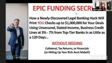 Epic Funding Secrets with Merrill Chandler