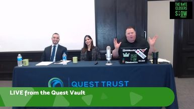 We are LIVE From the Quest Trust Vault in Austin, TX! We'll be discussing with the Austin Quest Cr