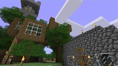 The Minecraft Files - #108- Exterior Home Decoration (HD)