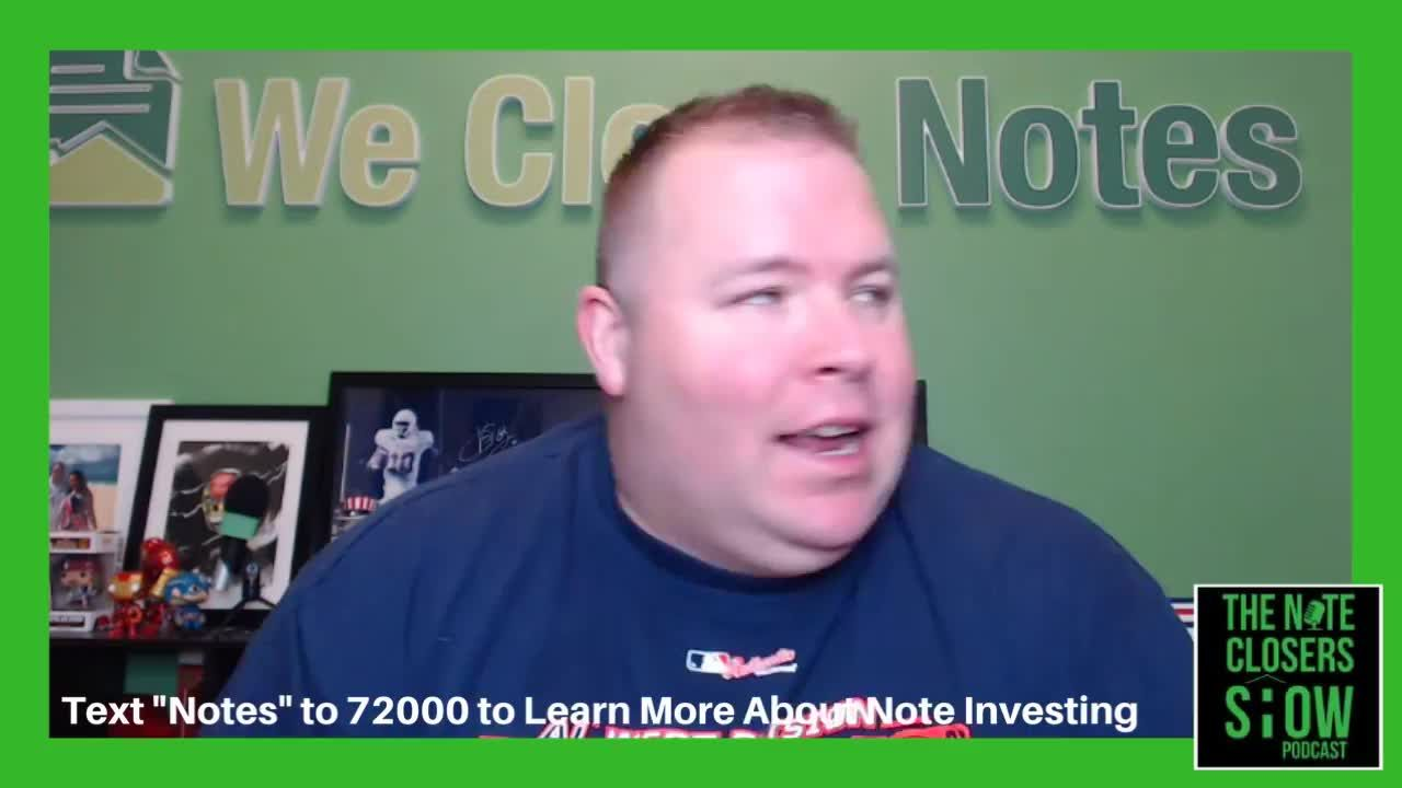 On this episode of the Note Closers Show, we'll be talking about how most investors are one contact