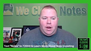 On this episode of the Note Closers Show, Scott discusses what the future holds for the note busine