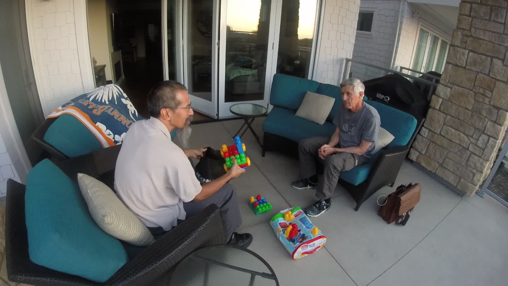 PreRAAM: Playing Lego with Master Pete Penseyres