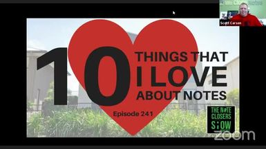 10 Things That I Love About Notes