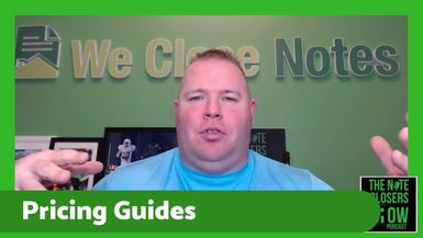 On this episode of the Note Closers Show, we'll talk about pricing for NPN's and CFD's in the marke