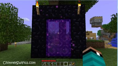The Minecraft Files - #77- Nether Portal Decoration (HD)