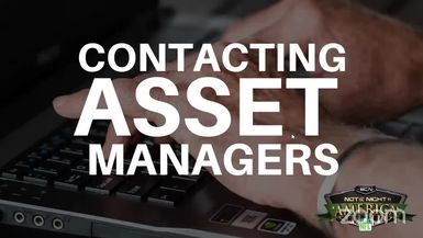 Contacting Asset Managers - NNA