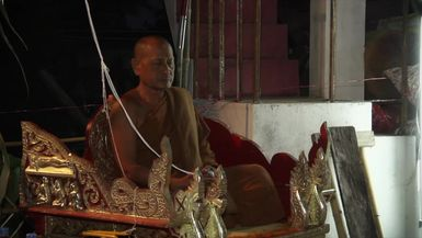 The Casting of a Buddha Statue in Thailand